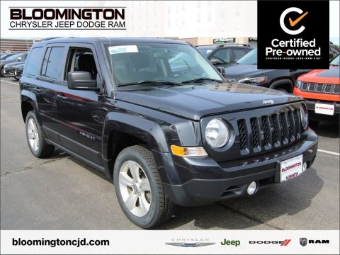 Pre-Owned 2016 Jeep Patriot Latitude 4x4 Auto Back-up Camera