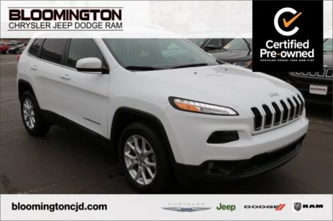 Pre-Owned 2016 Jeep Cherokee CERTIFIED Latitude 4x4 Cold Weather Grp 8.4 Screen