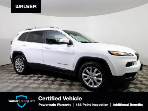 Pre-Owned 2016 Jeep Cherokee LIMITED 4WD TECH