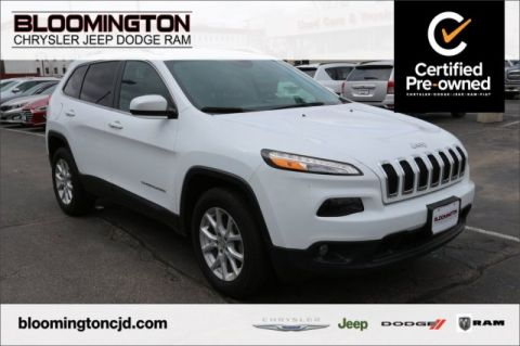 Pre-Owned 2018 Jeep Cherokee CERTIFIED Latitude Plus 4x4 V6