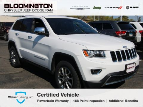 Pre-Owned 2016 Jeep Grand Cherokee CERTIFIED Limited 4X4 Navigation Sunroof