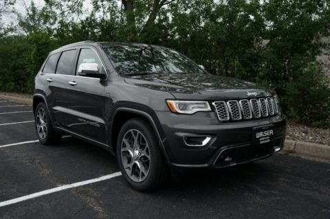 New 2019 Jeep Grand Cherokee 2019 JEEP GRAND CHEROKEE OVERLAND 4DR SUV 114.8 WB 4WD
