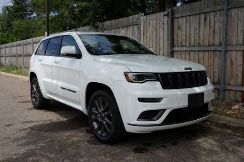 New 2019 Jeep Grand Cherokee JEEP GRAND CHEROKEE OVERLAND 4X4