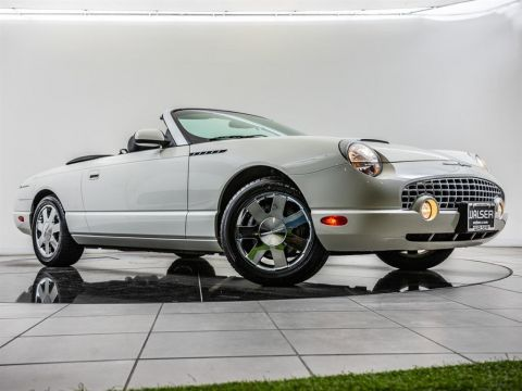 Pre-Owned 2002 Ford Thunderbird Low Miles!