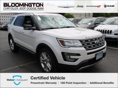 Pre-Owned 2016 Ford Explorer XLT V6 4x4 Navigation Moonroof
