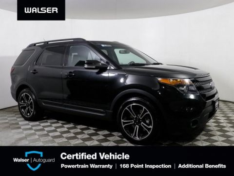 Pre-Owned 2015 Ford Explorer SPORT AWD ROOF