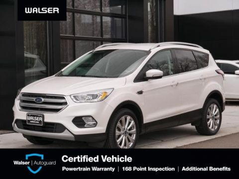 Pre-Owned 2017 Ford Escape Titanium Htd Lthr