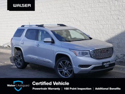 Pre-Owned 2018 GMC Acadia DENALI-AWD-NAV-DUAL MOON-BLND ZONE-TOW