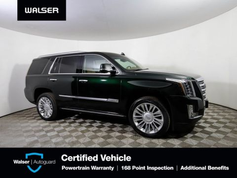Pre-Owned 2016 Cadillac Escalade PLATINUM 4WD HTD LEATHER ROOF NAV DVD *NEW TIRES*