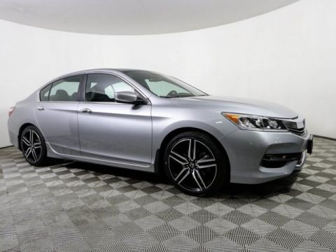 Certified Pre-Owned 2017 Honda Accord SPORT SE CERTIFIED