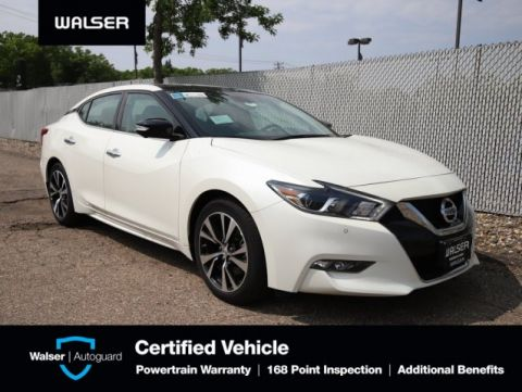 Pre-Owned 2018 Nissan Maxima PLATINUM HTD COOL LTHR NAV BOSE ROOF SAVE $$$$$$$$