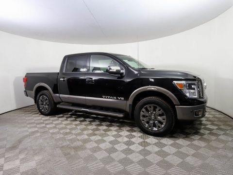 Certified Pre-Owned 2018 Nissan Titan *CERTIFIED* PLATINUM RESERVE 4X4 NAV HTD LEATHER