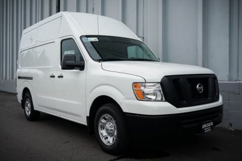 New 2018 Nissan NV Cargo SV V6