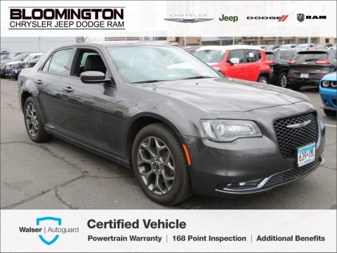 Pre-Owned 2017 Chrysler 300 S AWD Heated Leather Backup Camera