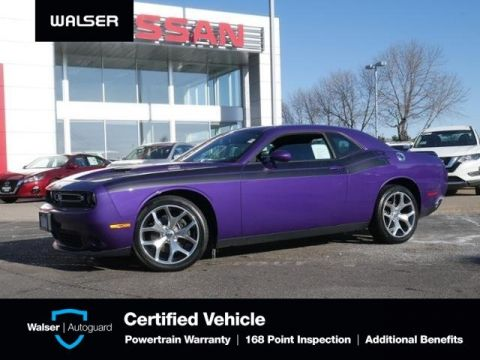 Pre-Owned 2016 Dodge Challenger R/T PLUS HTD VENTED NAPA LTHR BLIND SPOT MOON NAV