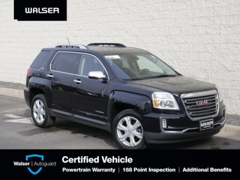 Pre-Owned 2017 GMC Terrain SLT-AWD-3.6L V6-MOON-NAV-BLND ZONE