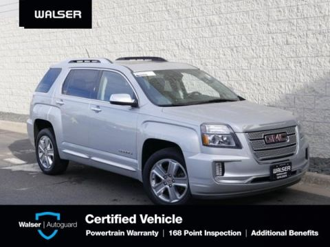 Pre-Owned 2017 GMC Terrain DENALI-AWD-2.4L-NAV-MOON
