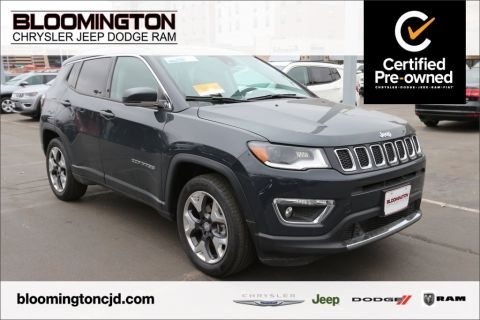 Pre-Owned 2018 Jeep Compass CERTIFIED Limited FWD Navigation