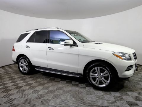Pre-Owned 2013 Mercedes-Benz M-Class ML350 4MATIC®
