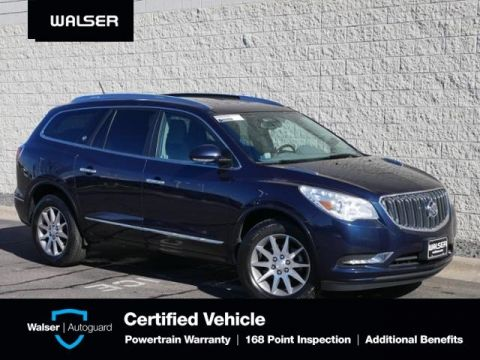 Pre-Owned 2017 Buick Enclave CONVENIENCE-FWD-CAPTAINS-BCKUP CAM-RMT START