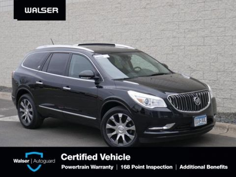 Pre-Owned 2017 Buick Enclave PREMIUM-AWD-NAV-MOON-TOW