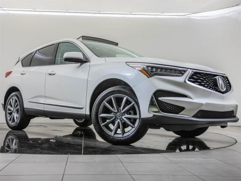 Pre-Owned 2019 Acura RDX Tech FWD, Pano Rf, Blnd Spt, CarPlay, BT, ELS