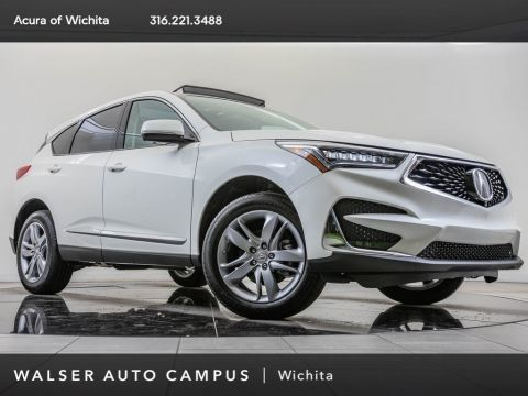 New 2019 Acura RDX Adv SH-AWD, HUD, BT, Blnd Spt, CarPlay, Vnt St