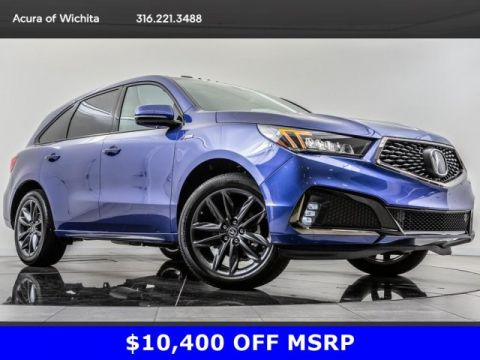 Pre-Owned 2019 Acura MDX MDX Tech A-Spec SH-AWD, BT, Blnd Spt, Nav