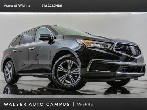 New 2019 Acura MDX SH-AWD, BT, Apl CrPly, And Auto, Ln Kp