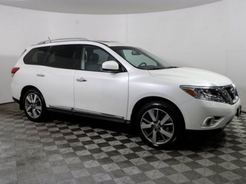Certified Pre-Owned 2016 Nissan Pathfinder PLATINUM 4WD HEATED LEATHER BOSE ROOF *CERTIFIED*