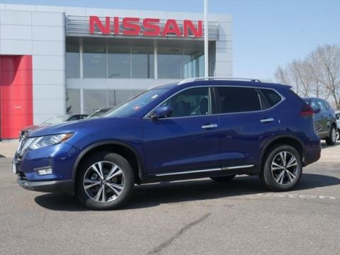 Certified Pre-Owned 2018 Nissan Rogue SL AWD CPO HTD LTHR BLIND SPOT APPLE CAR PLAY