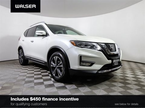 Certified Pre-Owned 2017 Nissan Rogue SL PREMIUM