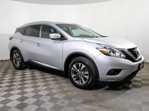Certified Pre-Owned 2015 Nissan Murano *CERTIFIED* SL AWD TECHNOLOGY PANO ROOF HTD LTHR