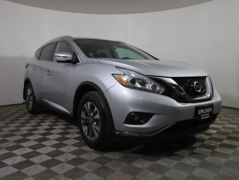Certified Pre-Owned 2017 Nissan Murano SL AWD *CERTIFIED* HTD LEATHER NAV BOSE NEW TIRES!