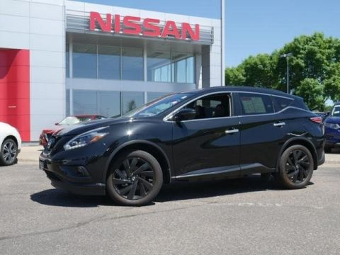Certified Pre-Owned 2018 Nissan Murano SL AWD CPO MIDNIGHT HEATED LEATHER NAV BOSE CLEAN!