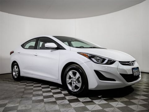 Certified Pre-Owned 2015 Hyundai Elantra SE Alloys 38 HWY MPG!