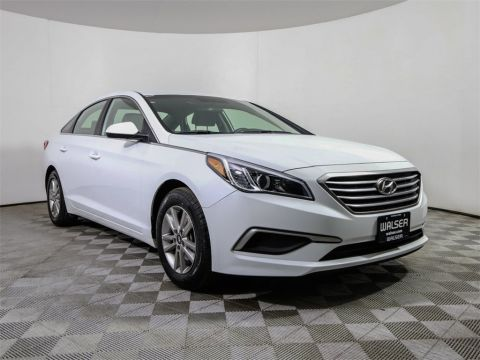 Certified Pre-Owned 2017 Hyundai Sonata Alloys Bluetooth