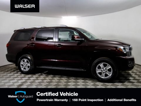 Pre-Owned 2018 Toyota Sequoia SR5 4X4 HEATED LEATHER