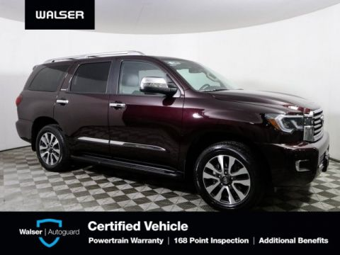 Pre-Owned 2018 Toyota Sequoia Limited