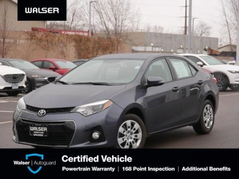 Pre-Owned 2015 Toyota Corolla S Backup Cam 1 Owner Low Mile