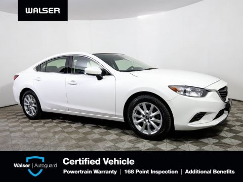 Pre-Owned 2016 Mazda6 SPORT BCAM ALLOYS