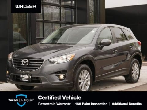 Certified Pre-Owned 2016 Mazda CX-5 Touring Moon Bose Htd Seats Nav
