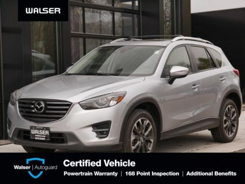 Certified Pre-Owned 2016 Mazda CX-5 Grand Touring Htd Lthr Nav