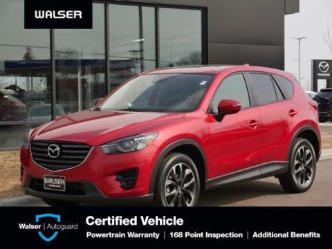 Pre-Owned 2016 Mazda CX-5 Grand Touring HTD LTHR NAV MOON BOSE