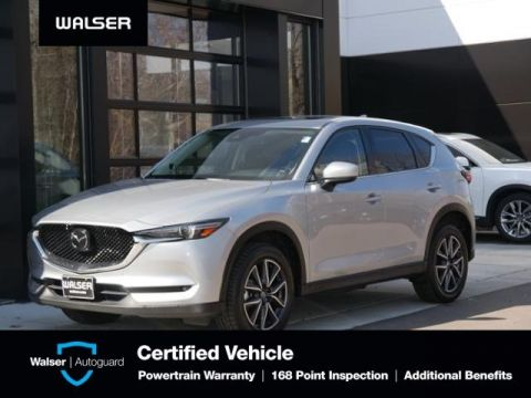Certified Pre-Owned 2018 Mazda CX-5 Grand Touring Htd Lthr Moon/Bose