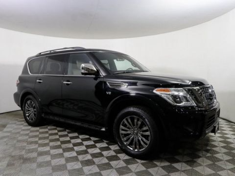 Certified Pre-Owned 2019 Nissan Armada PLATINUM RESERVE CAPT CHAIRS BOSE DVD *CERTIFIED*