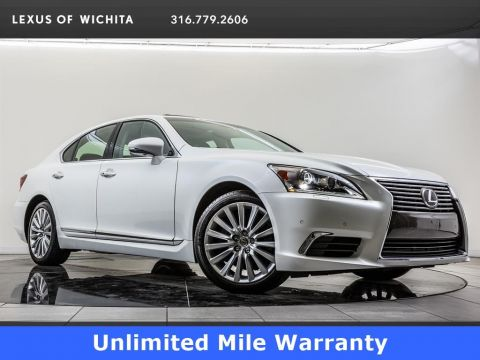 Certified Pre-Owned 2015 Lexus LS 460 Unlimited Mile Warranty, 19-inch Wheels