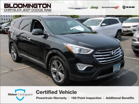 Pre-Owned 2015 Hyundai Santa Fe GLS FWD Leather Blind-Spot Monitor