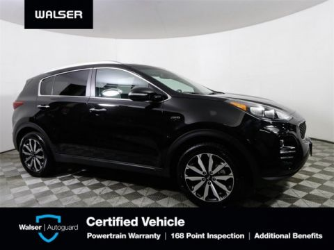 Pre-Owned 2017 Kia Sportage EX 4WD PREMUM & TECHNOLOGY PACKAGES NAV MOONROOF