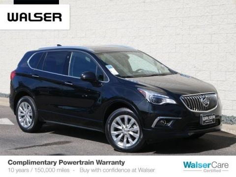 Pre-Owned 2017 Buick Envision NAV/MOON/AWD